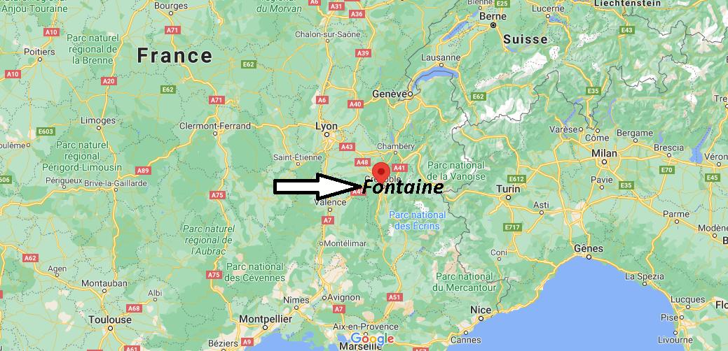 Où se trouve Fontaine