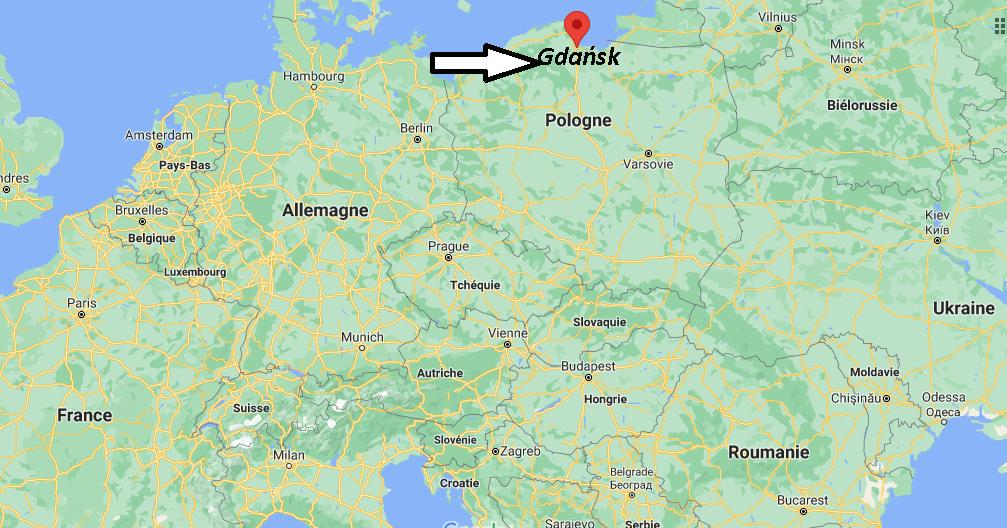 Où se trouve Gdańsk