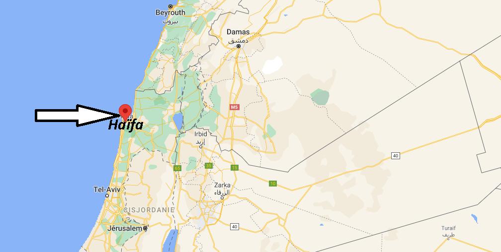 Où se trouve Haïfa