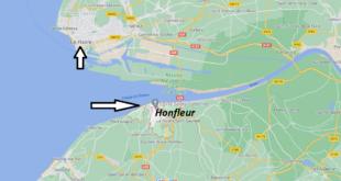 Où se trouve Honfleur