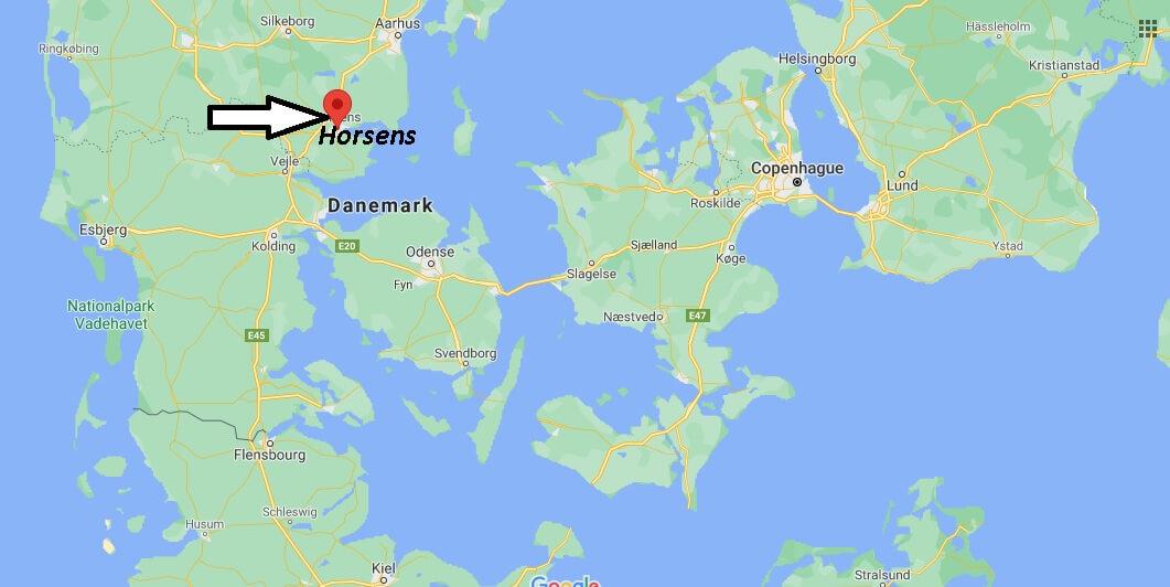 Où se trouve Horsens