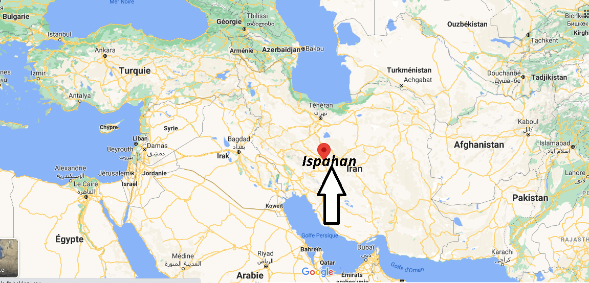 Où se trouve Ispahan