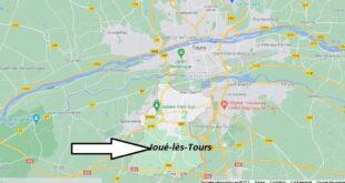 Où se trouve Joué-lès-Tours