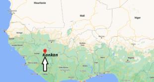 Où se trouve Kankan