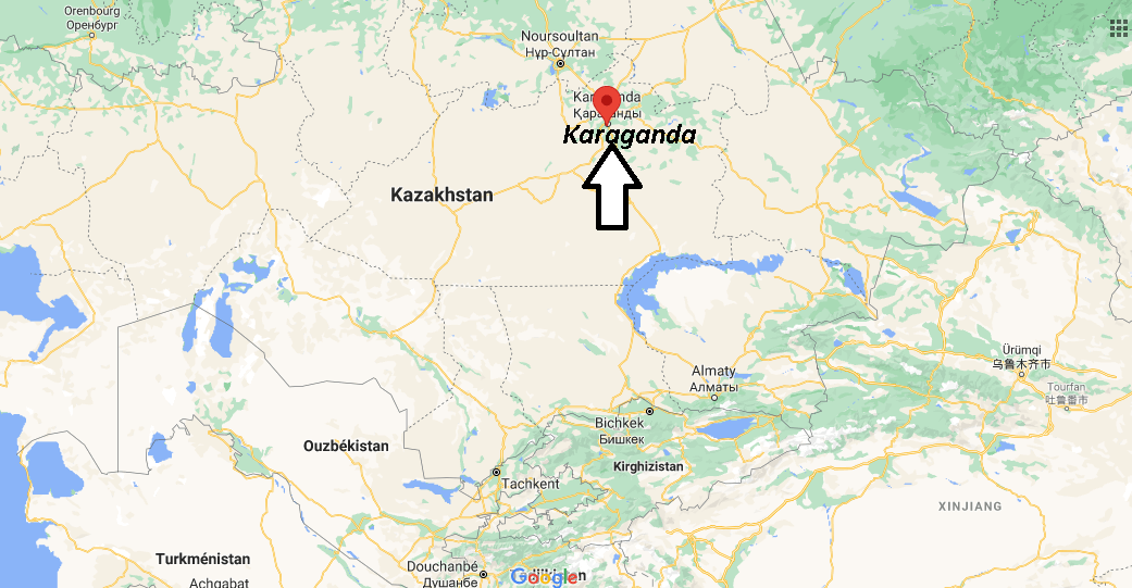 Où se trouve Karaganda