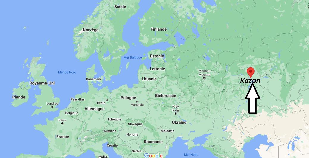 Où se trouve Kazan