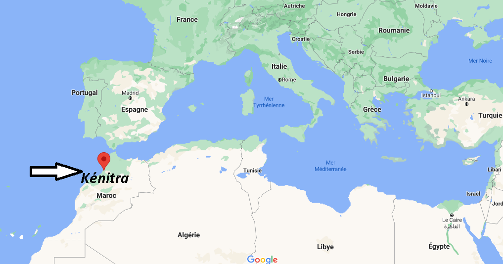 Où se trouve Kénitra