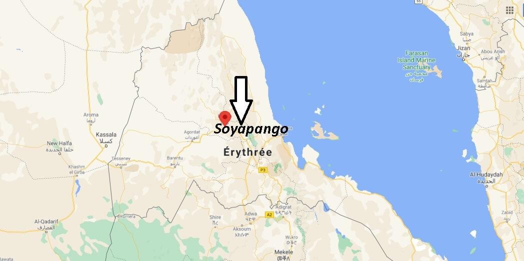 Où se trouve Keren Érythrée