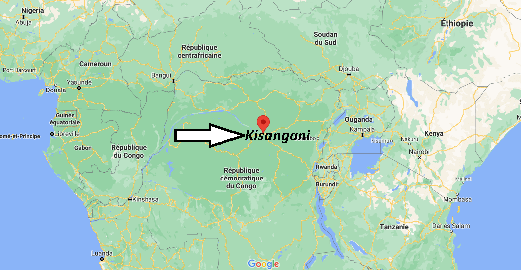 Où se trouve Kisangani