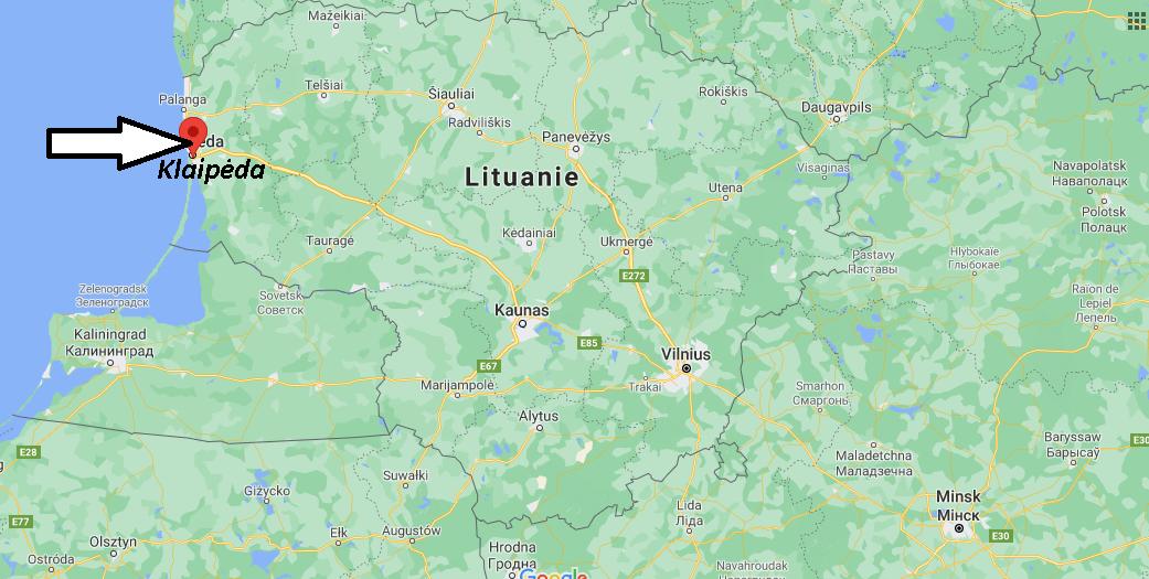 Où se trouve Klaipėda