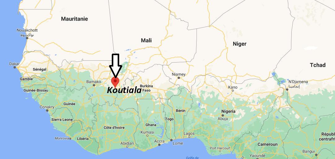 Où se trouve Koutiala