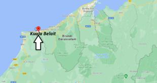 Où se trouve Kuala Belait