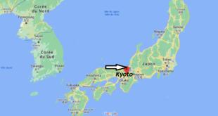 Où se trouve Kyoto