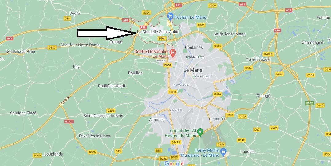 Où se trouve La Chapelle-Saint-Aubin