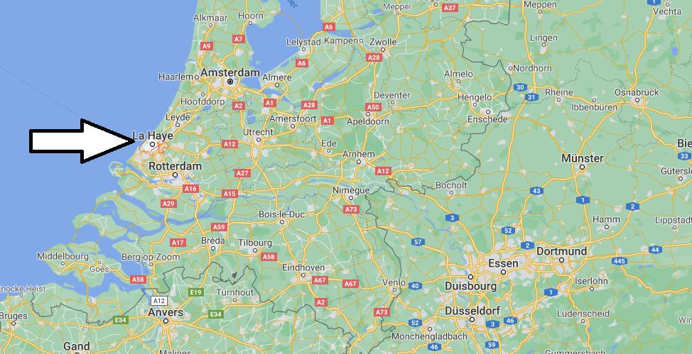Où se trouve La Haye