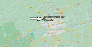 Où se trouve La Membrolle-sur-Choisille