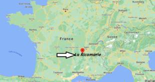 Où se trouve La Ricamarie