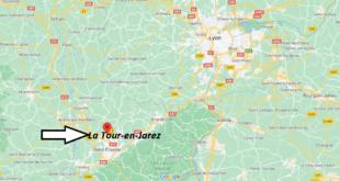 Où se trouve La Tour-en-Jarez