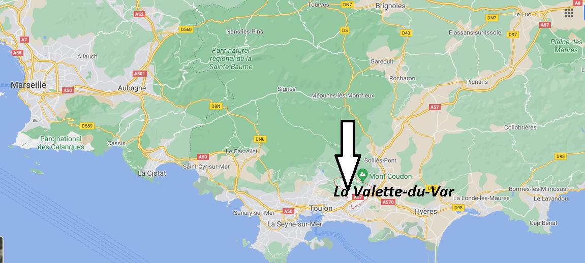 Où se trouve La Valette-du-Var