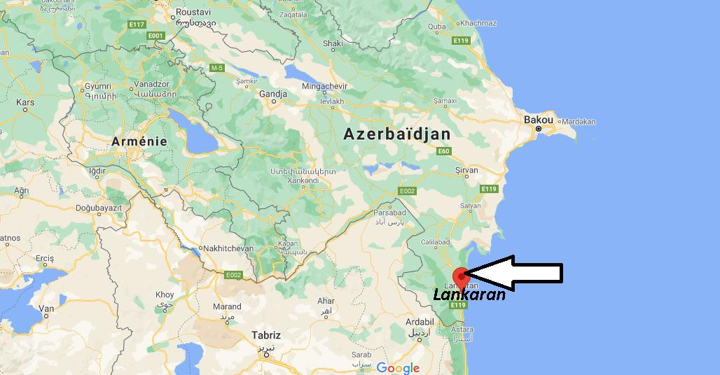 Où se trouve Lankaran