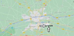 Où se trouve Larçay
