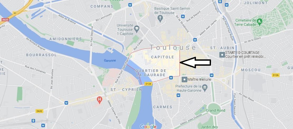 Où se trouve Le Capitole Toulouse