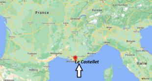 Où se trouve Le Castellet