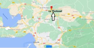 Où se trouve Le Tholonet