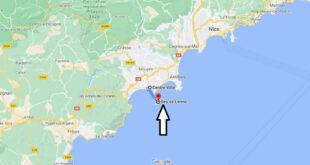 Où se trouve Les îles de Lérins