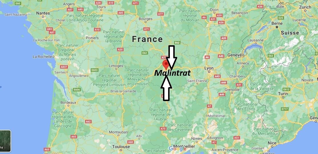 Où se trouve Malintrat