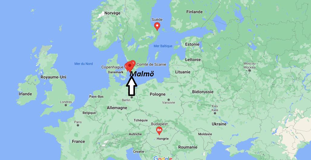 Où se trouve Malmö