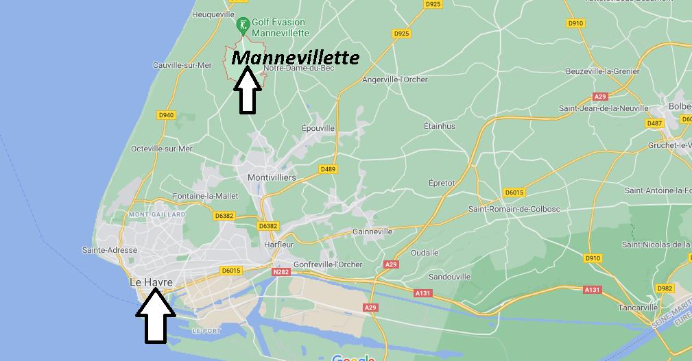 Où se trouve Mannevillette