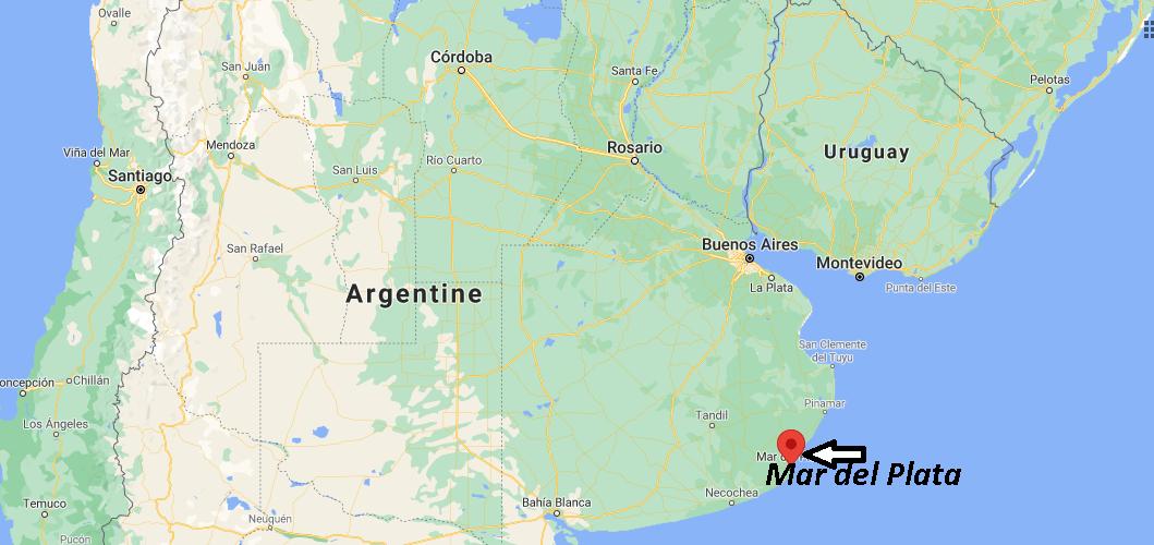 Où se trouve Mar del Plata