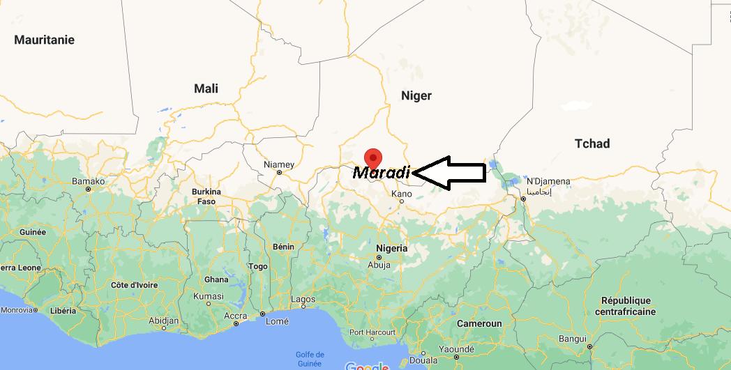 Où se trouve Maradi