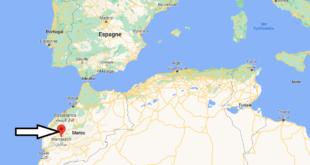 Où se trouve Marrakech