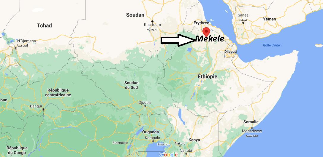 Où se trouve Mekele