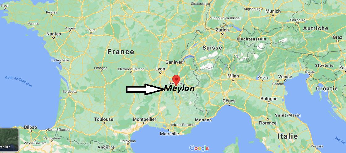 Où se trouve Meylan