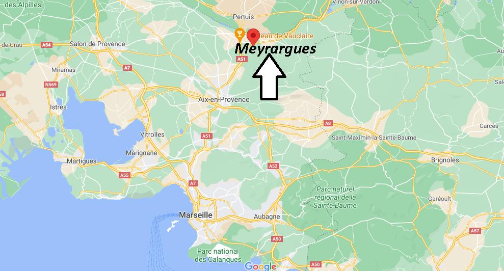 Où se trouve Meyrargues