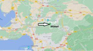 Où se trouve Mimet