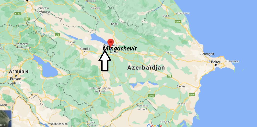 Où se trouve Mingachevir