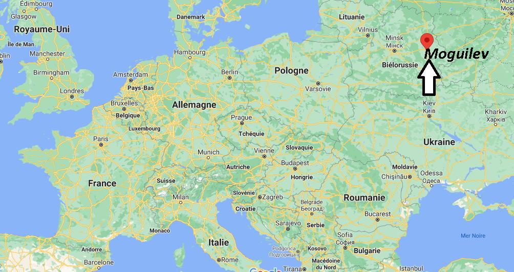Où se trouve Moguilev