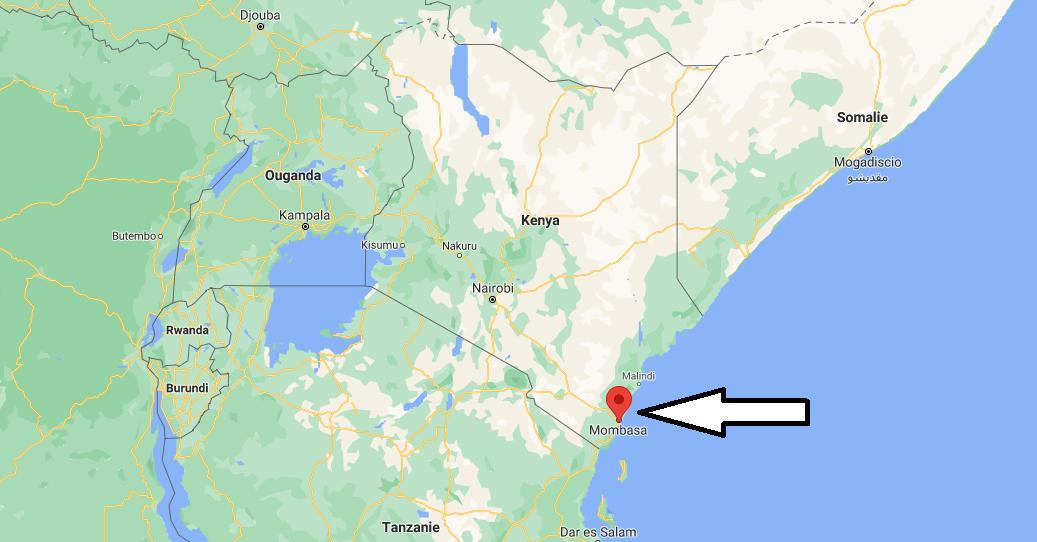 Où se trouve Mombasa