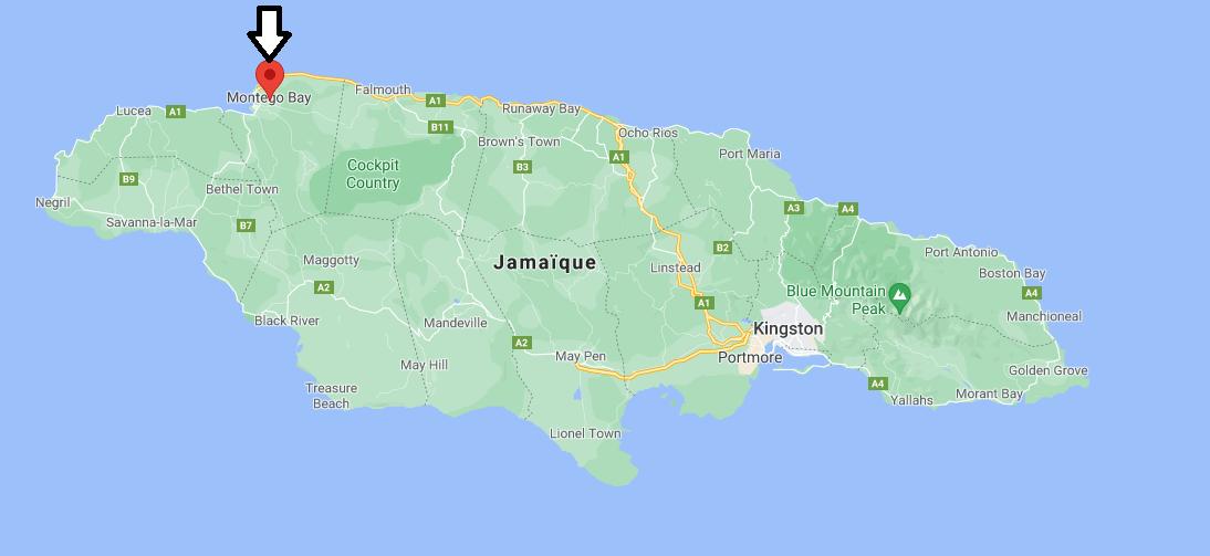 Où se trouve Montego Bay