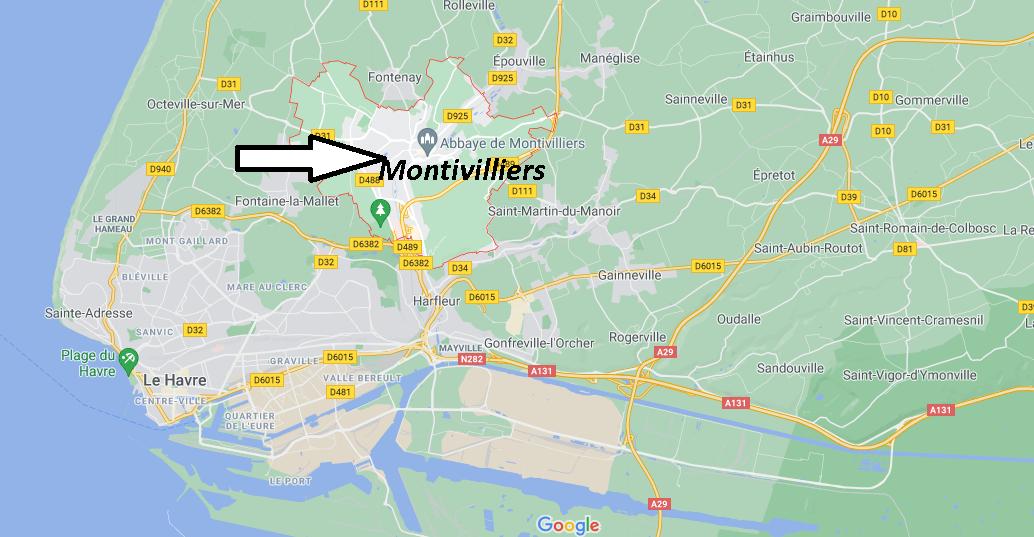 Où se trouve Montivilliers