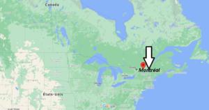 Où se trouve Montréal