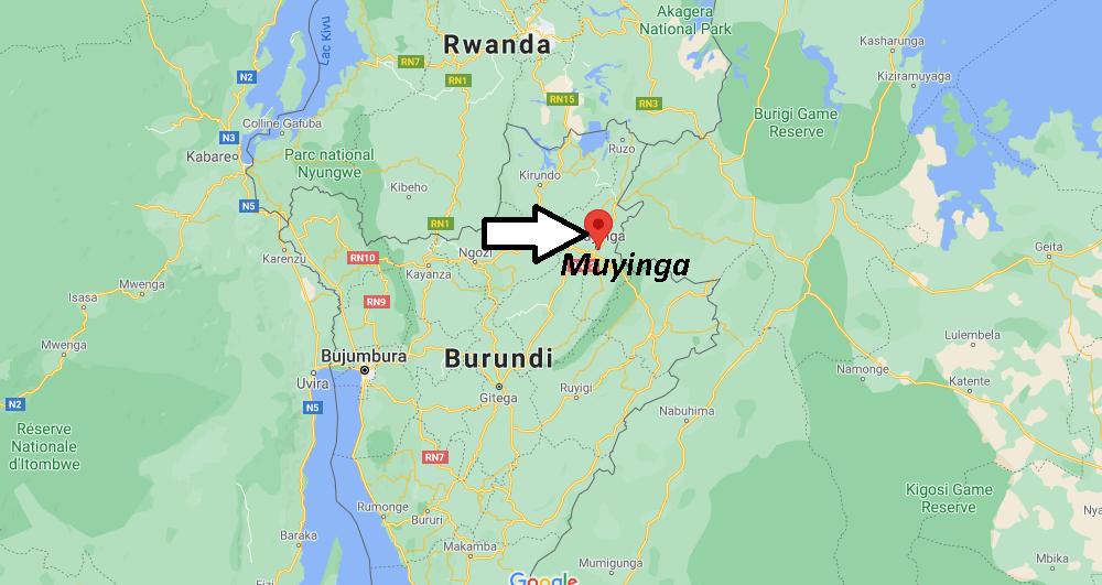 Où se trouve Muyinga
