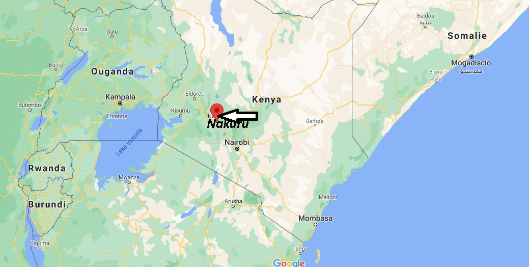 Où se trouve Nakuru