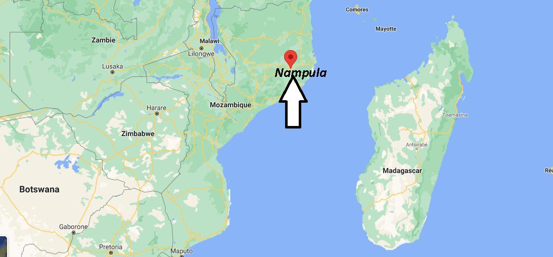 Où se trouve Nampula