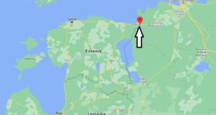 Où se trouve Narva