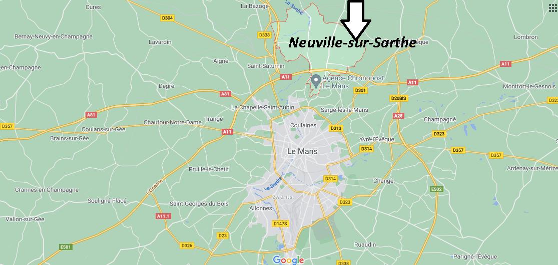 Où se trouve Neuville-sur-Sarthe